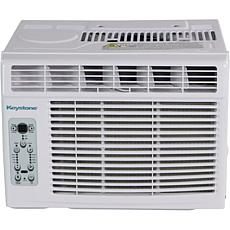 Keystone 6k BTU Window-Mounted Air Conditioner w/ Remote Control