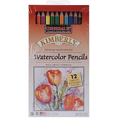Kimberly 12-pack Watercolor Pencils - Assorted Colors