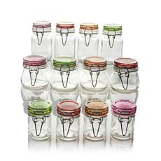 Kinetic Glassworks 12-piece Mini-Jar Set - Large