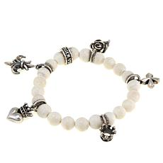 King Baby Jewelry Gemstone Bead Charm Bracelet