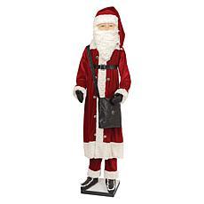 Kingsley Life Size Santa Figurine
