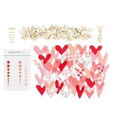 Kingston Crafts Love Collection Embellishment Variety Bundle
