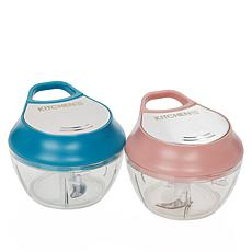 Kitchen HQ 2-pack Break-Apart Gift Mini Chopper