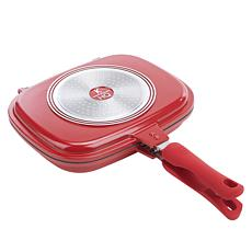 Kitchen HQ Titanium-Infused Ceramic Nonstick Flip Pan