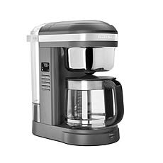 KitchenAid®  Coffee Maker with Programmable Warming Plate- Dark Grey