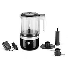 KitchenAid Cordless 5-Cup Food Chopper - Onyx Black