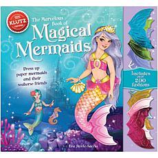 Klutz Magical Mermaids Paper Figures Book Kit