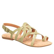 Korks Sangria Toe-Loop Strappy Sandal