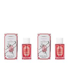 Korres 2-pack Cashmere Rose Eau de Parfum