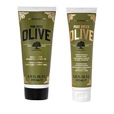 Korres 2-piece Olive Oil Crepe Rescue Set