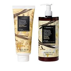 Korres 2-piece Super Size Vanilla Blossom Hydrating Set