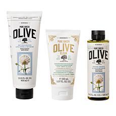 Korres 3-piece Olive Oil Body Set - Unscented
