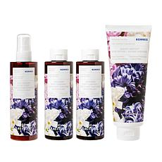 Korres 4-piece Lilac Hyacinth Age-Defying & Smoothing Collection