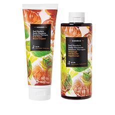 Korres Basil Mandarin Body Butter & Shower Gel