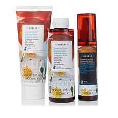 Korres Bergamot Jasmine Bath and Body Trio