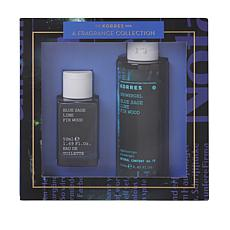 Korres Blue Sage, Lime & Fir Wood 2-piece Fragrance Set