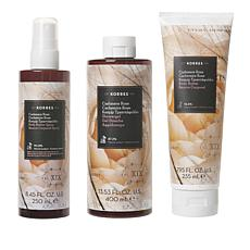 Korres Cashmere Rose Smoothing & Anti-Aging 3pc Collection