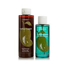 Korres Mango Candy Eau de Cologne & Shower Gel  Duo