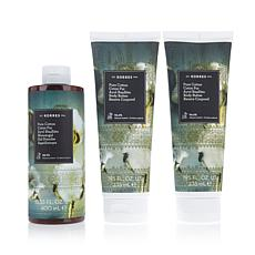 Korres Pure Cotton 3-piece Bath & Body Collection