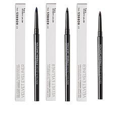 Korres Velvet Mechanical Eyeliner 3-piece Set