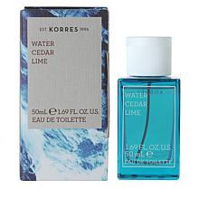 Korres Water Cedar Lime Eau de Toilette For Men - 1.69 fl. oz.