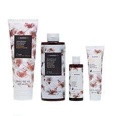 Korres White Blossom Double Up Bath and Body Quad