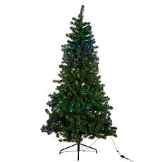 Kurt Adler 7' Pre-Lit Twinkly LED Pine Christmas Tree