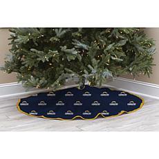 LA Chargers Christmas Tree Skirt