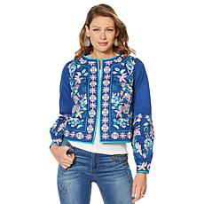 LaBellum by Hillary Scott Embroidered Jacket