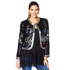 LaBellum by Hillary Scott Sequined Jacket