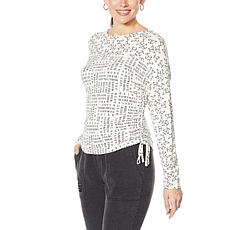 Laila Ali Adjustable Length Long-Sleeve Top