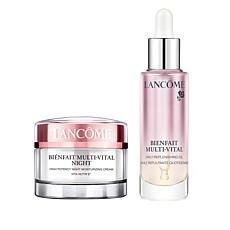 Lancôme Bienfait Night Cream & Oil Duo