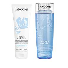 Lancôme Radiance Toner and Creamy Foam Cleanser