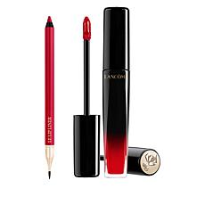 Lancôme Red L'Absolu Lacquer and Le Lip Liner Duo