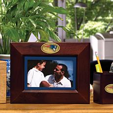 Landscape Brown Picture Frame - New England Patriots