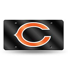 Laser-Engraved Blue License Plate - Chicago Bears