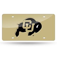Laser Tag License Plate - University of Colorado (Gold)