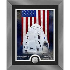 Launch America Dragon Crew Capsule Silver Coin Photo Mint