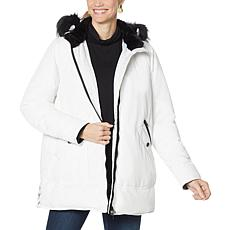 Laurier Hybradown Parka with Removable Hood