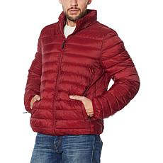 Laurier Men's Packable Zip-Front Puffer Jacket