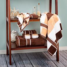 Lavish Home 100% Cotton Oakville Velour 6pc Towel Set