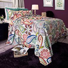 Lavish Home 2-piece Lizzie Quilt Set - Twin