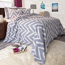 Lavish Home 2-piece Oriana Quilt Set - Twin