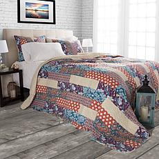 Lavish Home 2-piece Santa Fe Cabin and Lodge Quilt Set