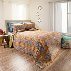 Lavish Home 2pc Arlene Reversible Quilt Set - Twin