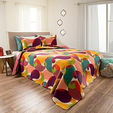 Lavish Home 2pc Evelyn Quilt Set - Full/Queen