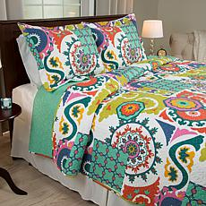 Lavish Home 3-piece Sybil Quilt Set - Full/Queen