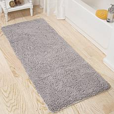 "Lavish Home Memory Foam Shag Bath Mat - 24"" x 60"""