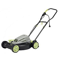 "LawnMaster Corded Electric 18"" Push Mower with Mulch & Side Discharge"
