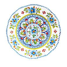 Le Cadeaux Madrid White 4-piece Dinner Plate Set